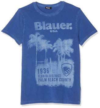Blauer Men's T-Shirt Manica Corta Blue (BLU OLTREMARE 876) XL