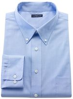 Croft & Barrow Men's Fitted Solid Easy-Care Button-Down Collar Dress Shirt