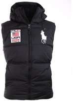 Polo Ralph Lauren Men's Big Pony Alpine Ski Patch Puffer Vest