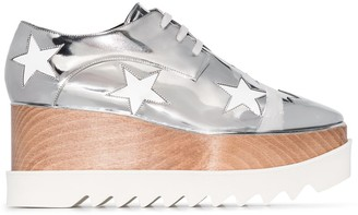 Stella McCartney Elyse cutout flatform shoes