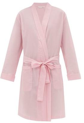 Derek Rose Amalfi 1 Cotton Robe - Womens - Pink