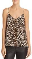 Equipment Layla Leopard Silk Camisole Top