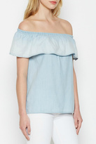 Soft Joie Vilma Chambray Top
