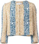 Sonia Rykiel embroidered stripe jacket