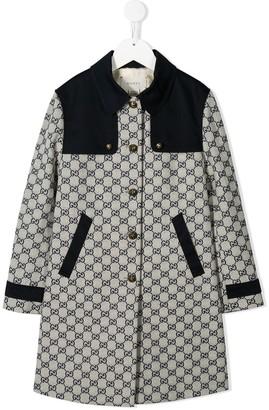 Gucci Kids GG logo coat