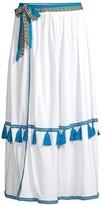 Pitusa Swing Ruffle Coverup Skirt
