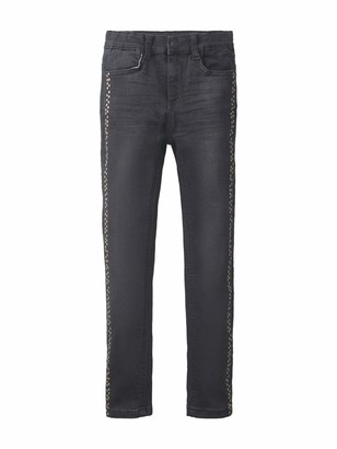 TOM TAILOR Kids Girl's Placed Print Jeans