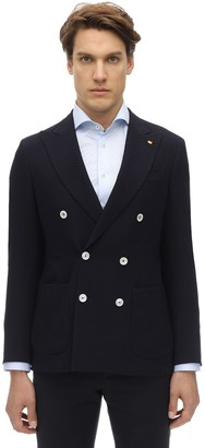 Sartoria Latorre Double Breasted Wool Jacket