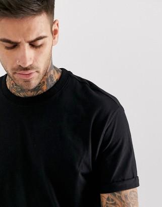 Bershka Join Life loose fit t-shirt in black