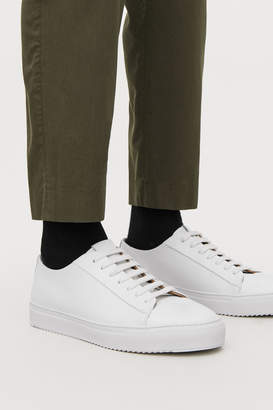 Cos THICK-SOLED LEATHER SNEAKERS
