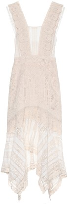 Jonathan Simkhai Crocheted cotton dress
