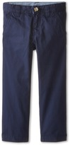Lacoste Kids - Cotton Gabardine Flat Front Chino Boy's Casual Pants
