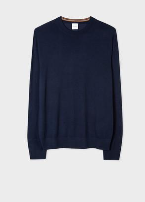 Men's Navy Merino Sweater
