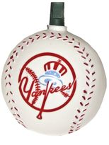 Kurt Adler New York Yankees Baseball Christmas Light Set - Indoor & Outdoor