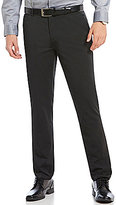 Calvin Klein Flat-Front Nylon Blend Pants
