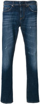 Neil Barrett faded front jeans