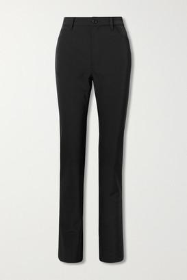 Maison Margiela Twill Slim-leg Pants - Black