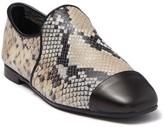 Aquatalia Rene Snake Print Loafer