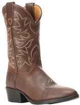 Dan Post Dark Brown Carter Leather Cowboy Boot