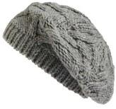 Caslon Cable Knit Beret