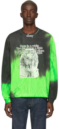 Misbhv Green Tie-Dye Once Long Sleeve T-Shirt