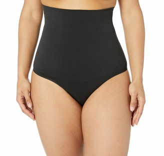 Yummie by Heather Thomson Women's Danielle In Shapes Seamless Shaping High Waist Shaping Thong