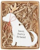 Mud Pie Mud Puppy Collection Best Furry Friend Ornament
