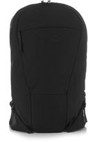 Y-3 Logo-embossed oval vest backpack
