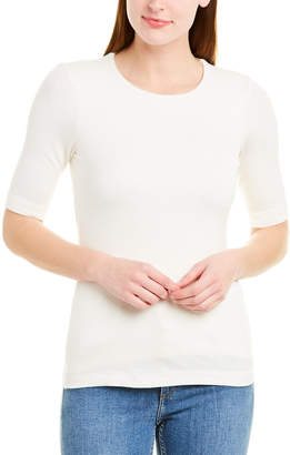Three Dots Luxe Rib T-Shirt