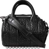 Alexander Wang Mini Rockie bag in silver finish