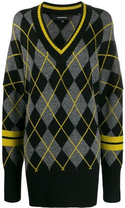 Barbara Bui Argyle Knit Jumper