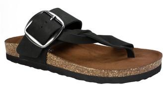 White Mountain Leather Sandals - Harvey
