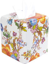 Mackenzie Childs Flower Market Enamel Tissue Box Cover