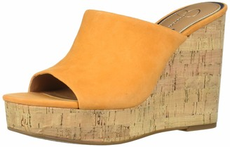 Jessica Simpson womens Shantell slides sandals