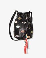 Nicole Miller Evil Eye Bucket Bag