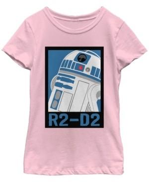 Fifth Sun Star Wars Big Girl's Galaxy of Adventures R2-D2 Poster B1P Short Sleeve T-Shirt