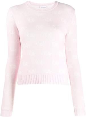 Chiara Ferragni patterned sweatshirt