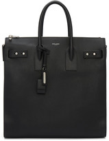 Saint Laurent Black Sac De Jour North South Tote