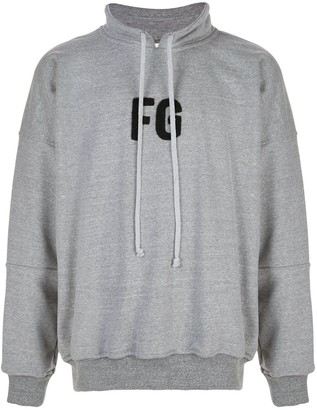 Fear Of God logo hoodie