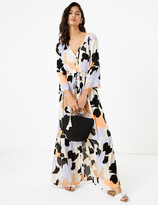 Marks and Spencer Floral Maxi Waisted Beach Dress