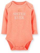 Carter's Baby Girls' Long Sleeve Bodysuit