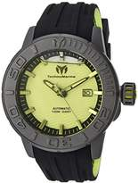 Technomarine Men's 'Reef' Automatic Titanium and Silicone Casual Watch, Color:Two Tone (Model: TM-516009)