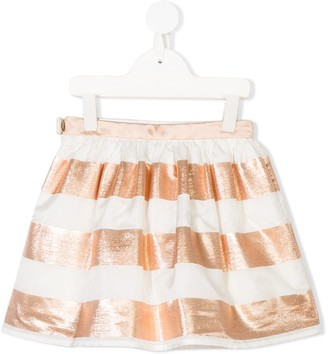Hucklebones London Gathered Striped Skirt