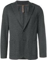 Eleventy herringbone jersey jacket