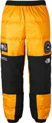The North Face Summit Series Tapered GORE-TEX Shell and Quilted Ripstop Down Trousers - Men - Yellow