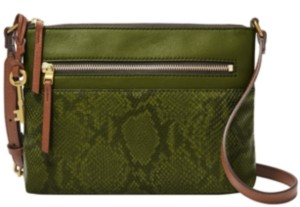 Fossil Women's Fiona Leather East West Crossbody