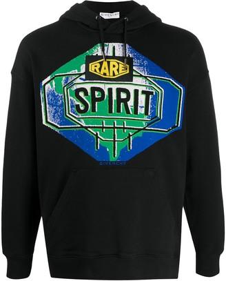 Givenchy Rare Spirit print hooded sweatshirt