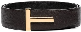 Tom Ford classic T buckle belt