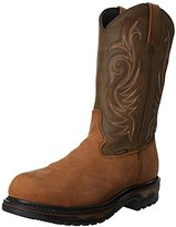 Laredo Men's Waterproof H2o Western Work Boot Soft Toe - 68114