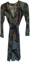Issa Green Silk Dress for Women